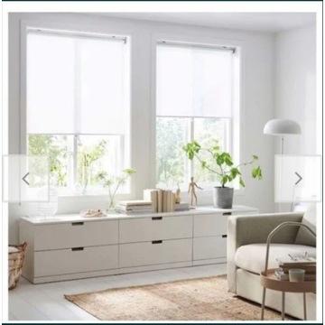 IKEA roleta  szerokość 100x195 biała