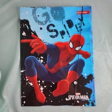 Teczka A4 z gumką Spider-Man