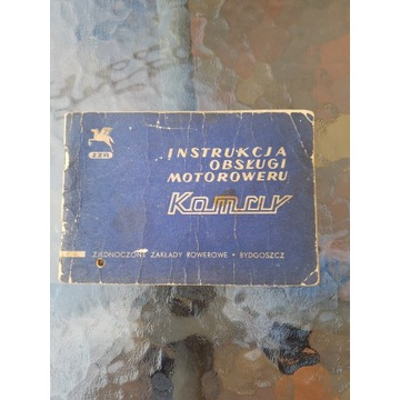 Motorower komar-instrukcja obsługi.