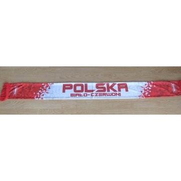 Szalik kibica POLSKA Biało-Czerwoni Warka 2020