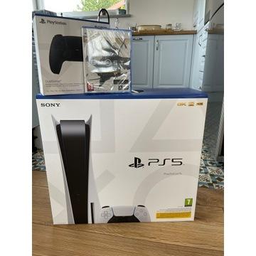 PlayStation 5 + Pad + Gra