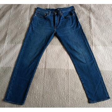 Spodnie jeansy Levis 502 34x34 Performance Nowe