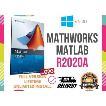 Mathworks Matlab R2020a 2020 Lifetime License