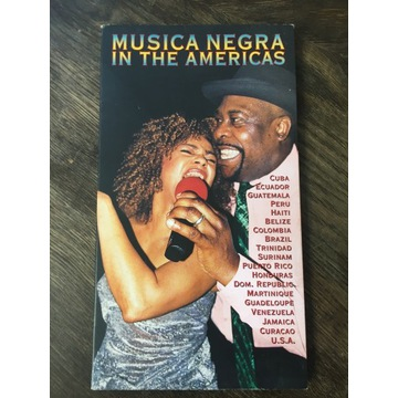 Planet MUSICA NEGERA IN THE AMERICAS CD + książka