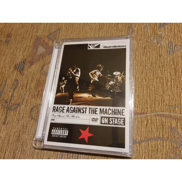 RAGE AGAINST THE MACHINE - ON STAGE (DVD)