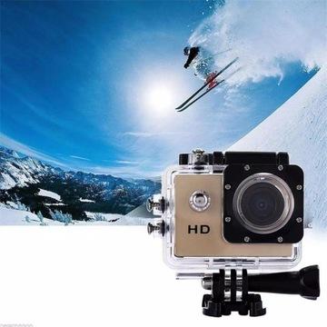 Mini kamera sportowa wodoodporna licytacja od 1zł