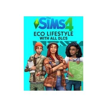 The Sims 4 + Zycie Eko + Wszystkie Dodatki
