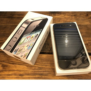 Apple iPhone 4S 16GB Czarny 100% ORYGINAŁ