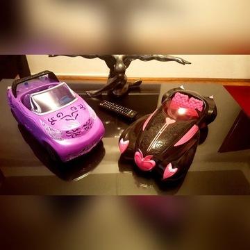 Monster High Mattel Samochód Draculaura i Roadster