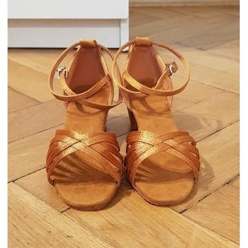 Buty taneczne skóra rozm. 8 obcas 3.5