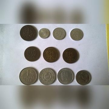 Stare monety 1921, 1923, 1949 itp.