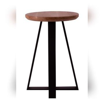 Taboret, stołek dąb naturalny
