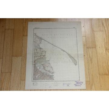 Gdynia 1:100 000 WIG 1931 P29, 30 S27 Oryginał