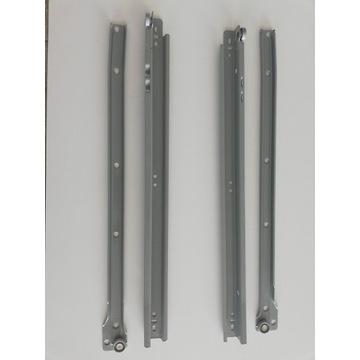 Prowadnice rolkowe 450mm do szuflad - 10kpl