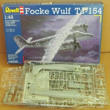 FOCKE WULF TA 154 A-0 (1/48 REVELL / DRAGON)