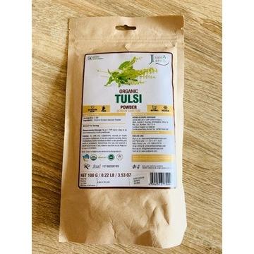 TULSI/ŚWIĘTA BAZYLIA, Organiczne susz, 100 gr