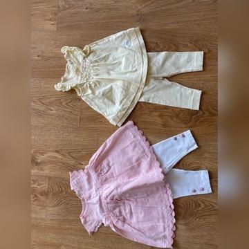 Mega paka ubrań dla dziewczynki rozmiar 50-68