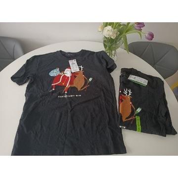 Męska koszulka świąteczna