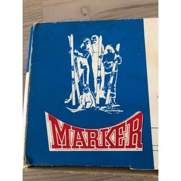 Wiązania narciarskie Marker M4-8 Fabryczny komplet