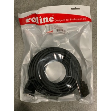Kabel Roline D-Sub (VGA) - D-Sub (VGA) 10m czarny