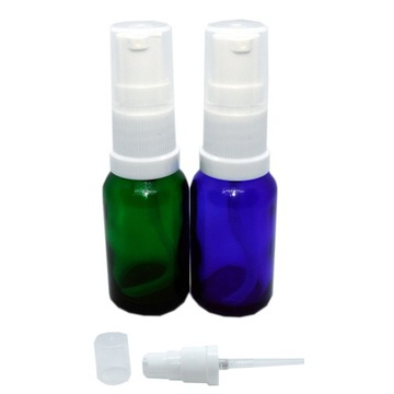 BUTELKA SZKLANA ATOMIZER MINI POMPKA 10ML KOLOR B