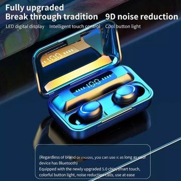 Sluchawki bezprzewodowe powerbank licytacja od 1zl