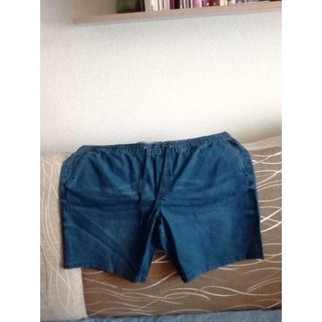 krótkie spodenki jeansowe ( duży rozmiar 68)
