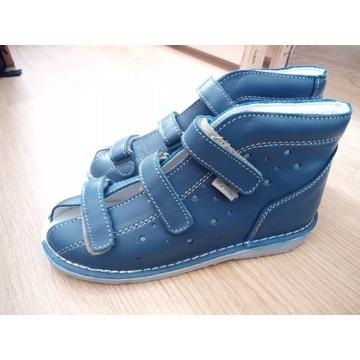 NOWE 32 buty danielki Skórzane profilaktyczne