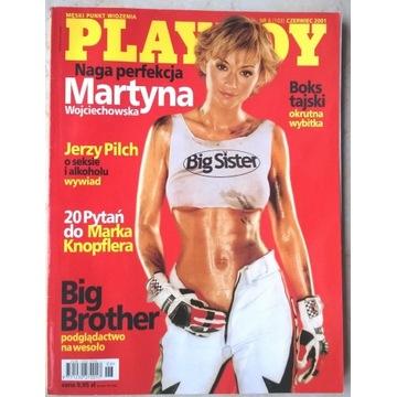 PLAYBOY Mrtyna Wojciechowska nr 6 (103) 06/2001