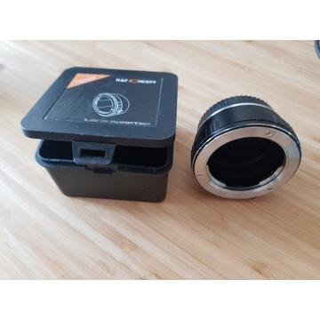 Adapter Minolta MD do Fuji FX