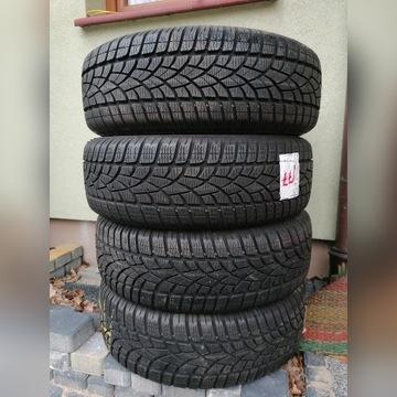 Opony zimowe Dunlop 215/60 R17  7-8 mm