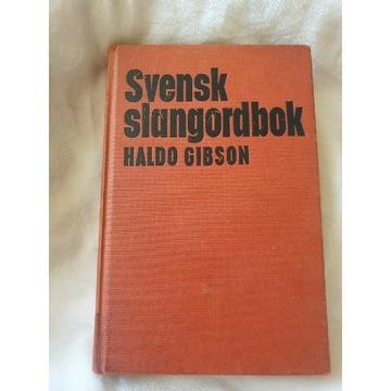 Svensk slangordbok / szwedzki słownik slangu