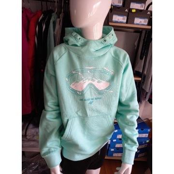 Bluza mięta 4F rozmiar 140