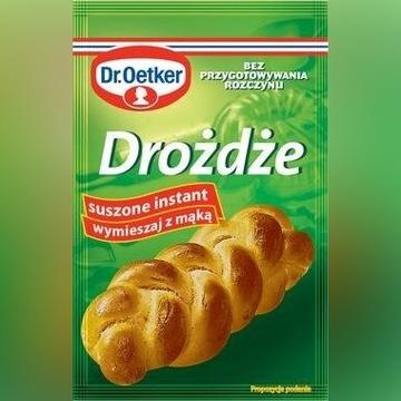 Drożdże suche Dr.Oekter 20 paczek po 7g. (140g.)