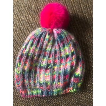 Piękna czapka na polarze Name it, 6-9 lat 52-53