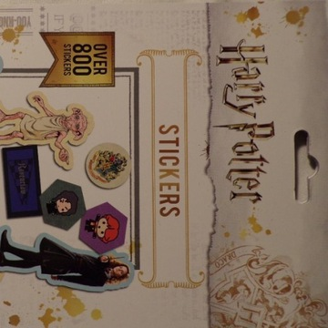 Zestaw Naklejek. Naklejki Harry Potter. 800+