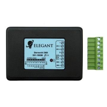 Sterownik RGB DMX taśm cyfrowych LED S51 WS2811