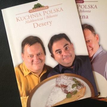 Kuchnia Polska Makłowicza i Bikonta.