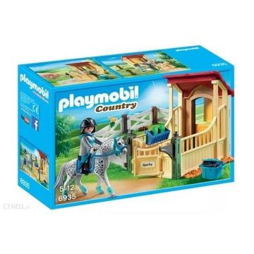 Playmobil, Country, Boks stajenny Appaloosa, 6935