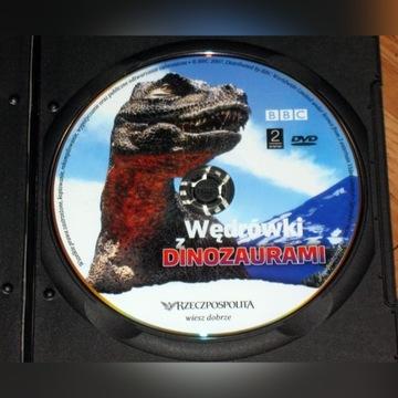 DVD Wędrówki z dinozaurami bestiami potworami