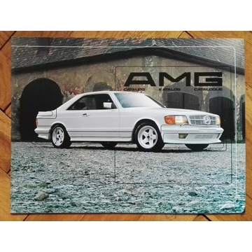 AMG prospekt w201 w123 w126 c126 r107 SL