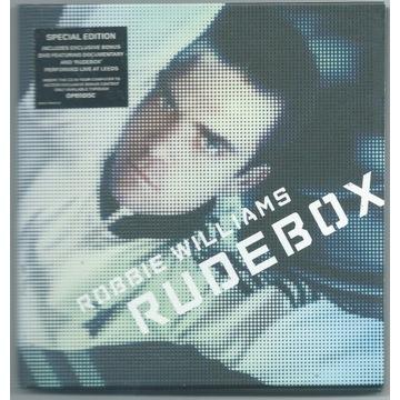 ROBBIE WILLIAMS - RudeBox - CD+DVD Deluxe UNIKAT