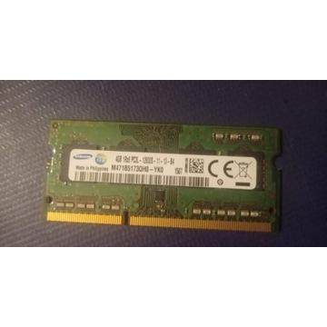 Pamięć RAM DDR3 Samsung 4 GB do laptopa