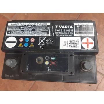 AKUMULATOR VARTA  12V 61AH 330A