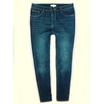 rurki H&M  wysoki stan miękki jeans 40