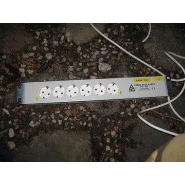 Listwy zasilające rack shucko, metr kabla