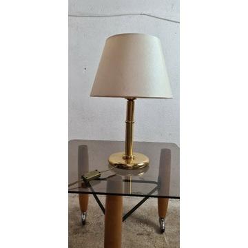 Lampka nocna złota glamour 45cm lampa