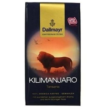 Kawa mielona Dallmayr Kilimanjaro niemiecka UTZ
