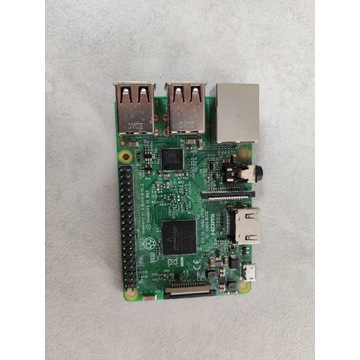 Raspberry Pi 3 B WiFi Bluetooth 1GB RAM 1,2GHz