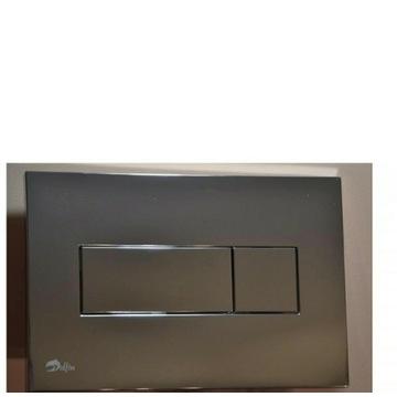 Przycisk spłukujący do WC Alcaplast Delfin chrom